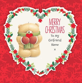 More like this... Merry Christmas To My Girlfriend Personalised Card