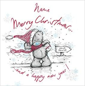 Classic Tatty Teddy Christmas Card - Me to You Sketchbook