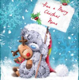 Merry Christmas To You.Me To You Softly Drawn Christmas Card Merry Christmas
