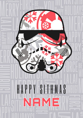 stormtrooper helmet christmas card star wars no preview image is not found