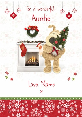 Boofle - Wonderful Auntie at Christmas