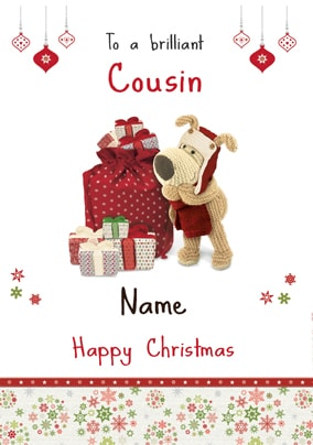 Boofle - Brilliant Cousin at Christmas