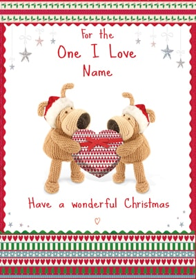 Boofle - For the One I Love at Christmas