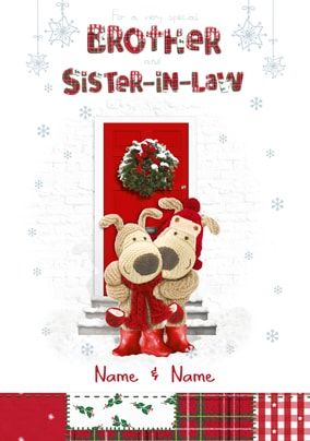 Boofle - Christmas Brother and Sister-in-law