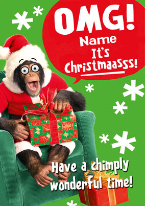 Beast Wishes - Christmas OMG Chimp