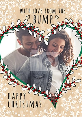 From The Bump Photo Christmas Card