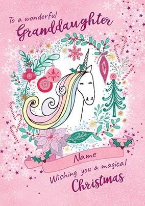 Unicorn Christmas Cards Funky Pigeon