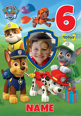 Paw Patrol Birthday Cards