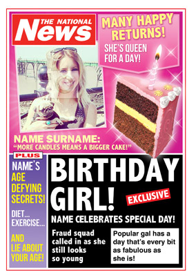 National News - Birthday Girl