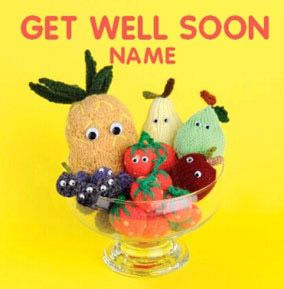 Knit & Purl - Get Well Soon Fruit Bowl