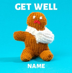 Knit & Purl - Get Well Gingerbread