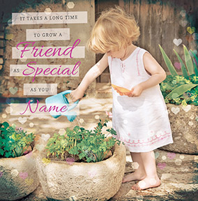 Hand on Heart - For a Special Friend