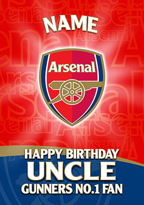 Arsenal FC - Crest Uncle