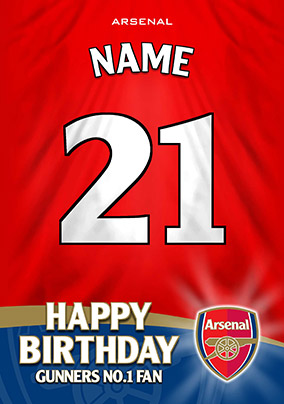 Arsenal FC - Shirt 21