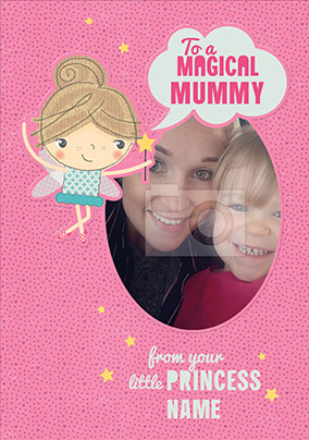 Doodle Pops - Mummy Birthday Card From Your Little Princess