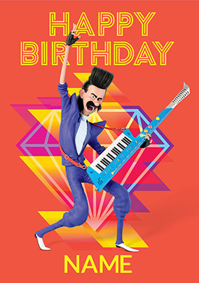 Despicable Me Balthazar Bratt Personalised Birthday Card