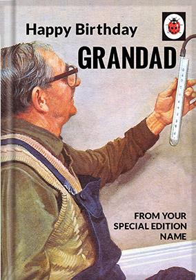 Grandad Ladybird Book Birthday Card Funky Pigeon
