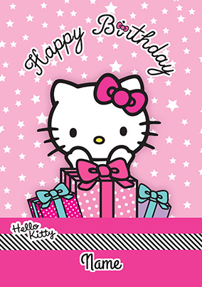 More Like This Hello Kitty Birthday Card