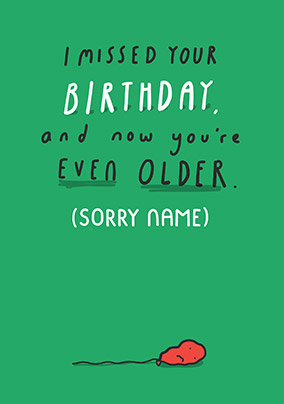 Send Belated Birthday Cards Today