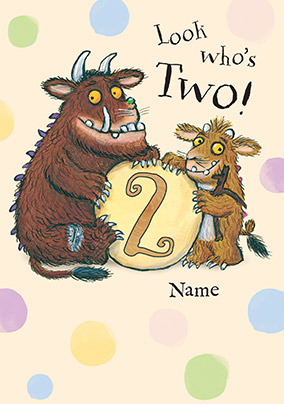 Gruffalo Birthday Cards Official Funky Pigeon