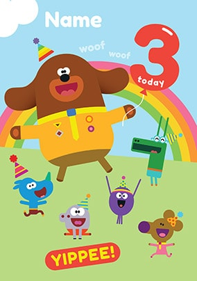 Hey Duggee Birthday Cards Official Funky Pigeon