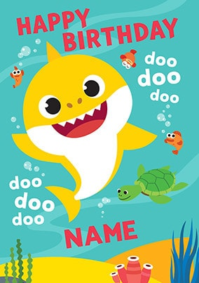 Baby Shark Personalised Birthday