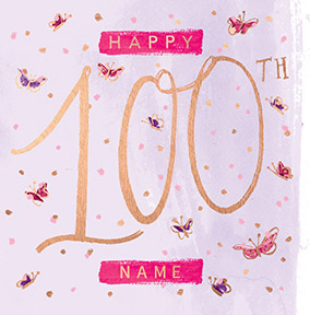 Sassy 100th Birthday Card NO Preview Image Is Not Found