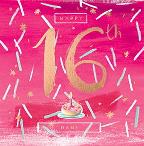Sassy 16th Birthday Card NO Preview Image Is Not Found