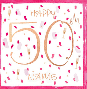 Sassy 50th Birthday Card NO Preview Image Is Not Found