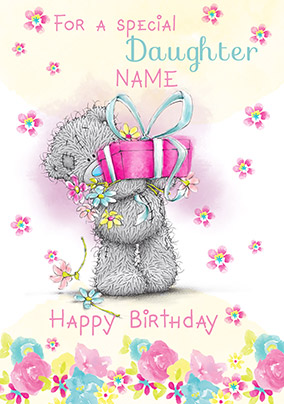 Me To You - Special Daughter Birthday Card | Funky Pigeon