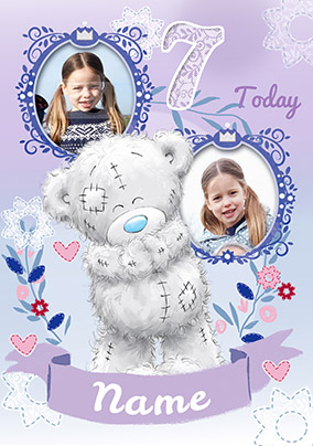7 Today Me To You Multi Photo Birthday Card