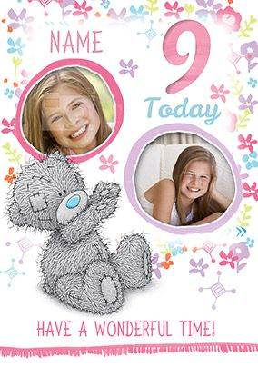 9 Today Me To You Multi Photo Birthday Card