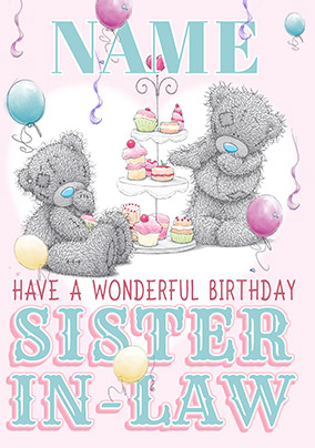 Send Sister In Law Birthday Cards