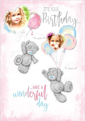Me To You - Have A Wonderful Photo Birthday Card