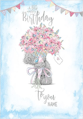 Me To You - A Big Happy Birthday Personalised Card