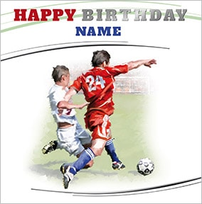 ae960119b football personalised birthday card