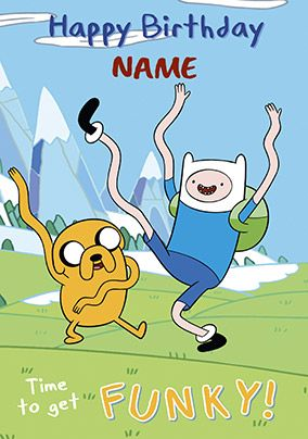 Adventure Time - Finn & Jake Funky Birthday
