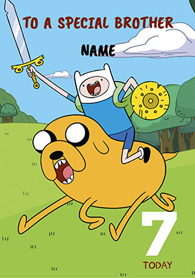 Adventure Time - Finn & Jake Age 9