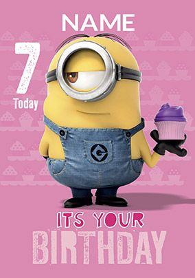 Despicable Me 2 - Minion 7 today Card