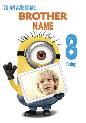 Despicable Me 2 - Awesome Brother Minion Card