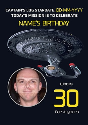 Star Trek - 30 Earth Years of Age
