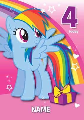 My Little Pony - Rainbow Dash 4 Today