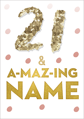 More Like This 21 Amazing Personalised Birthday Card
