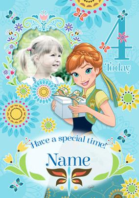 Incredible Disneys Frozen Birthday Card 4 Today Photo Upload Funky Pigeon Birthday Cards Printable Benkemecafe Filternl