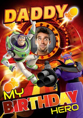 Disney Toy Story - Birthday Card Daddy
