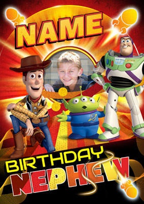 Disney Toy Story - Birthday Card Nephew