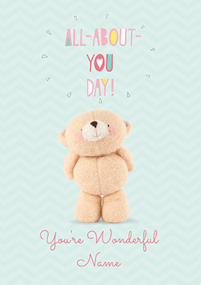 All-About-You Day Personalised Birthday Card