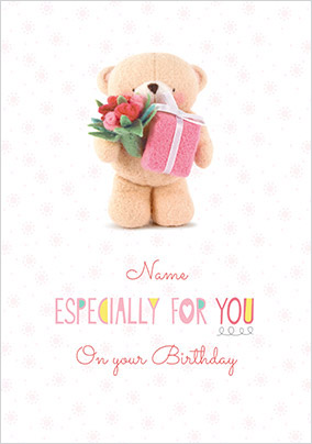 Especially For You Personalised Birthday Card