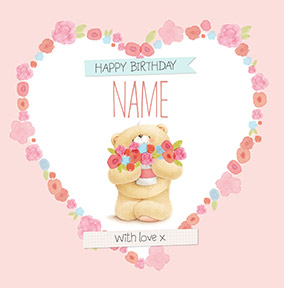 With Love Forever Friends Birthday Card