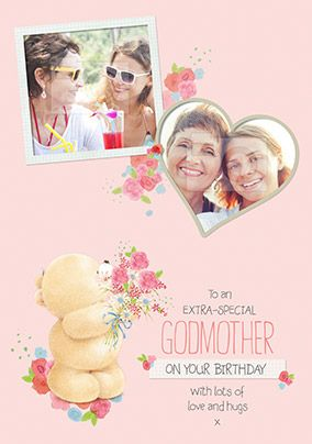 Godmother Photo Forever Friends Birthday Card